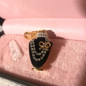 Juicy Couture bust charm